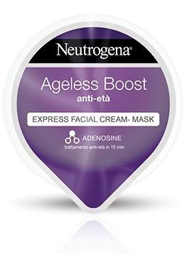 Ageless Boost Express Facial Cream-Mask Anti-età