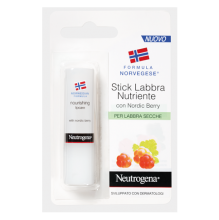 Neutrogena® Stick Labbra Nutriente, con Nordic Berry