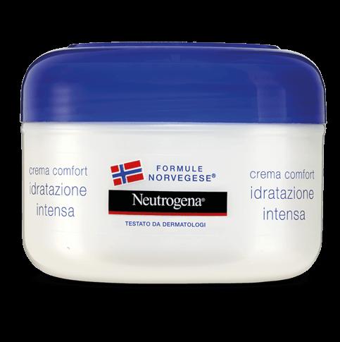 Neutrogena® Crema Comfort Idratazione Intensa Viso e Corpo Pelle Normale e Secca