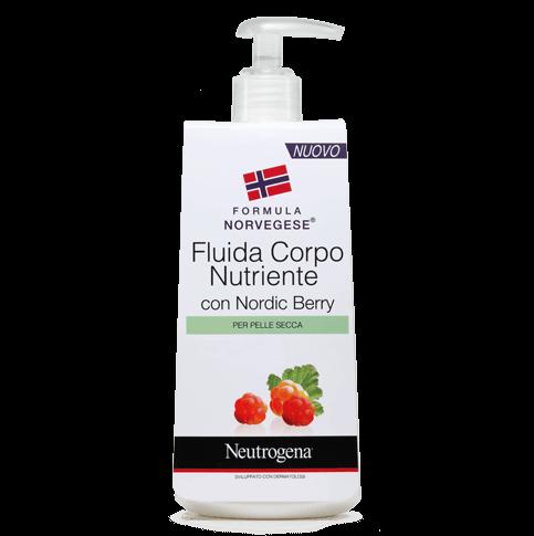 Neutrogena® Fluida Corpo Nutriente con Nordic Berry