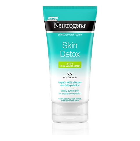 Neutrogena® Skin Detox Maschera Purificante all'argilla 2in1