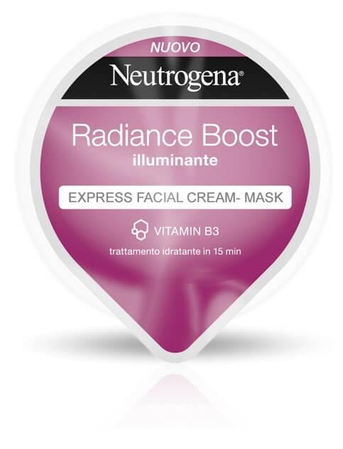 Radiance Boost Express Facial Cream-Mask Illuminante